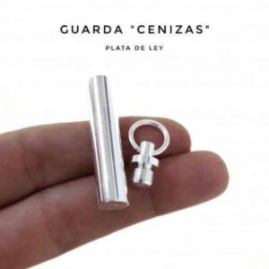 Guardacenizas de plata