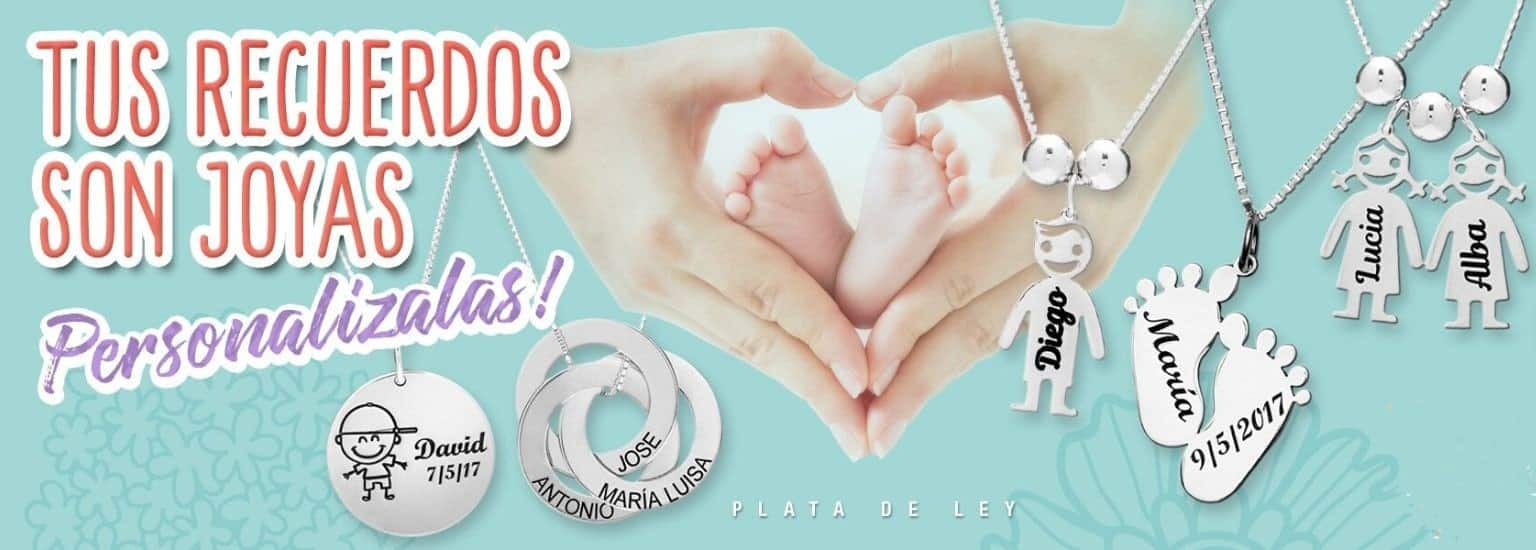 Joyas personalizadas de plata